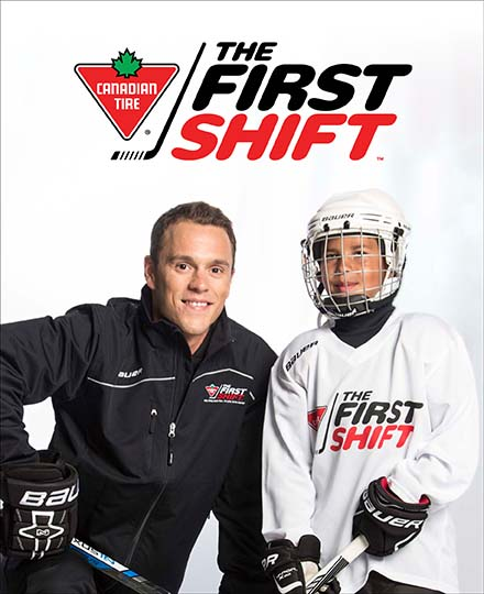 Logo for Canadian Tire First Shift