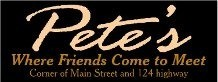Pete's Donuts